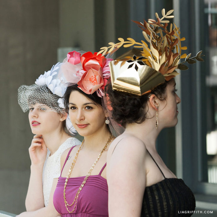 DIY Kentucky derby fascinators