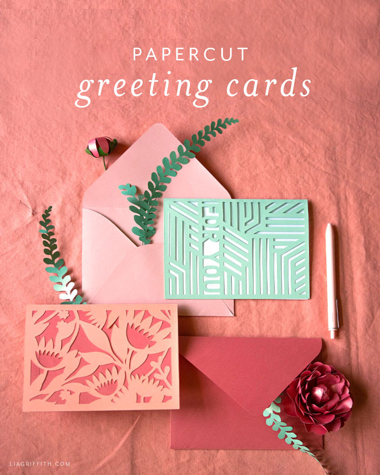 papercut greeting cards