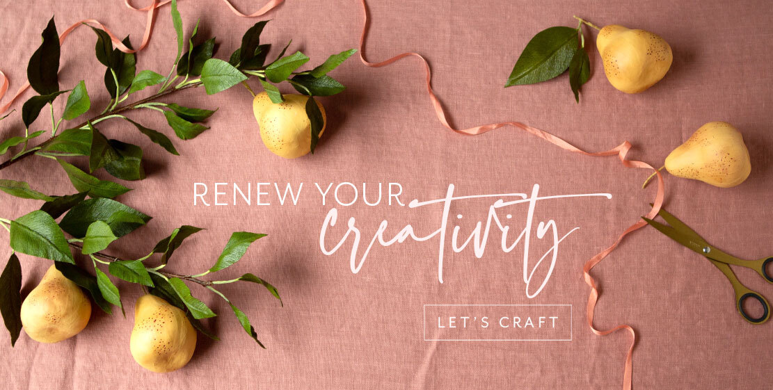 Renew your creativity! Let's craft.