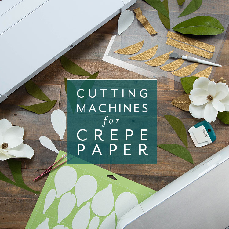 Craft Academy Mini Course Cutting Machines For Crepe Paper Lia Griffith