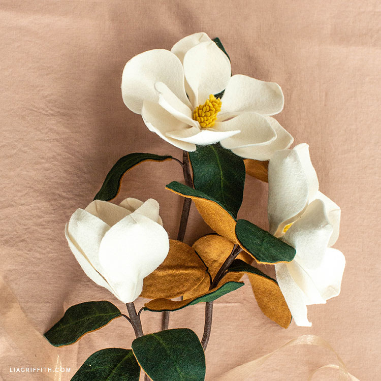 felt southern magnolias