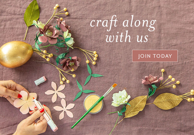 Craft along with us! Join today.