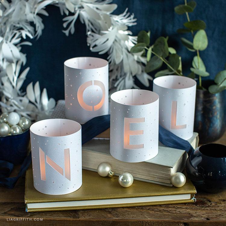 paper noel luminaries