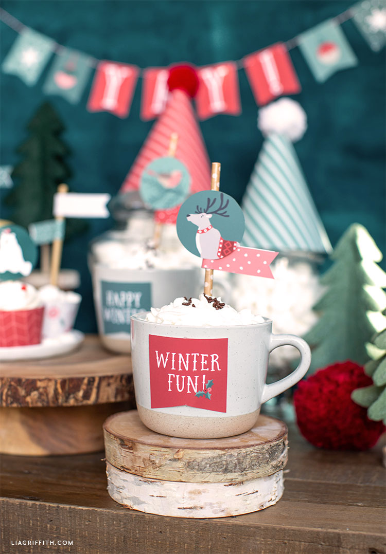DIY holiday party decorations