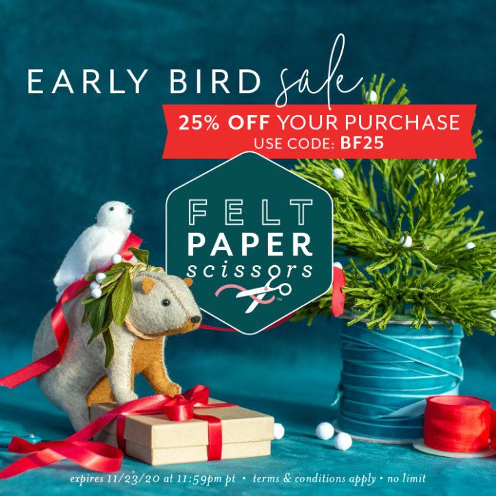 Early Bird Sale! 25% off your purchase using code: BF25. Expires 11/23/2020 at 11:59PM PST. Terms and conditions apply. No Limit.