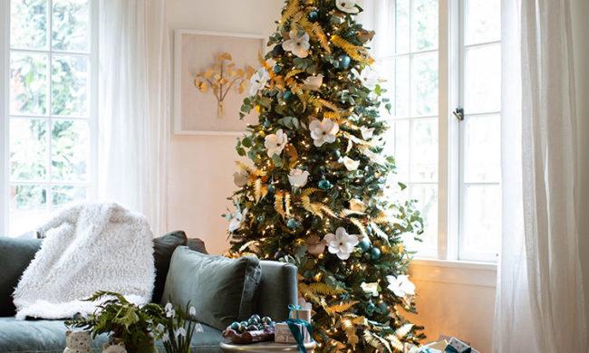 Lia Griffith's Christmas tree