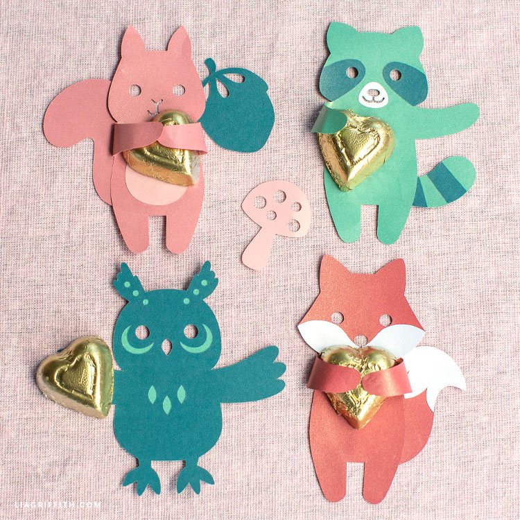 handmade animal candy huggers