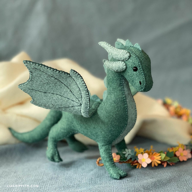 felt dragon