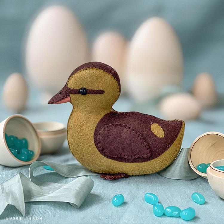 felt duckling