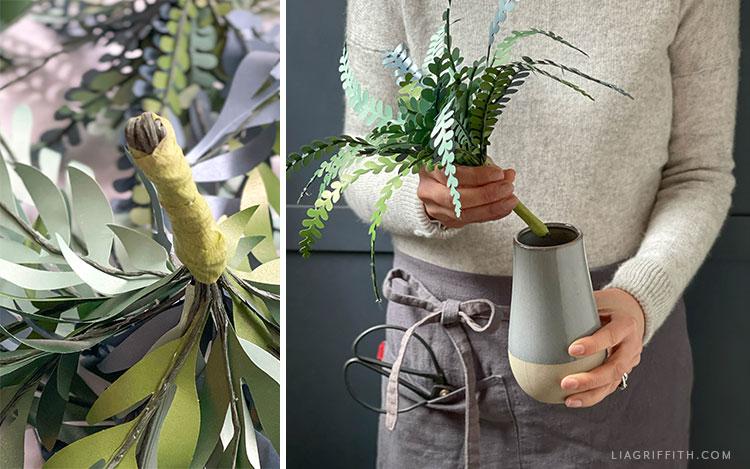 handmade paper plant