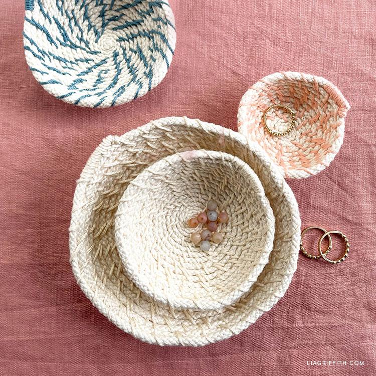 mini handmade bowls