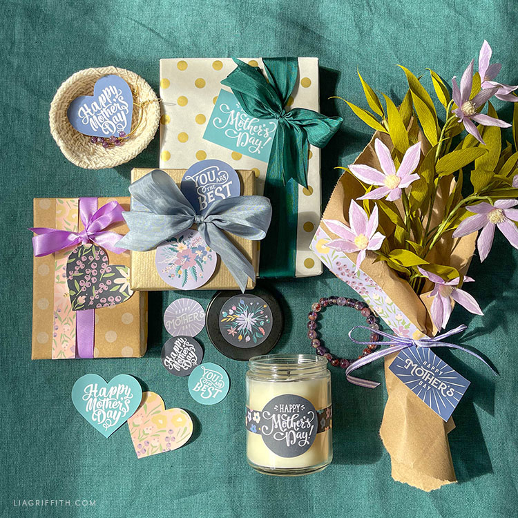 Mother's Day gift ideas and Mother's Day stickers