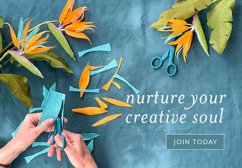 Nurture your creative soul. Join today!