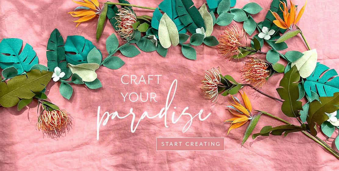 Craft your paradise. Start creating!