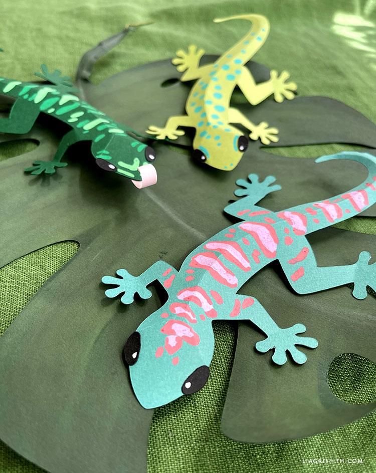 paper geckos