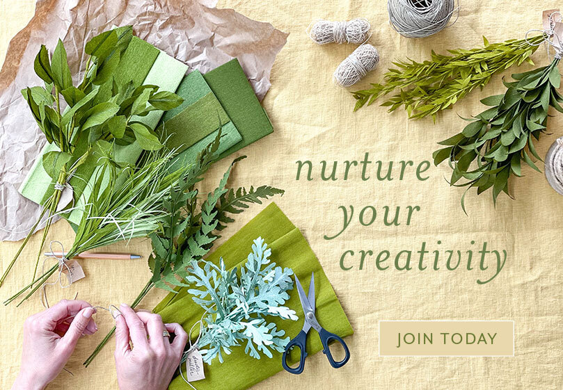 Nurture your creativity. Join today!