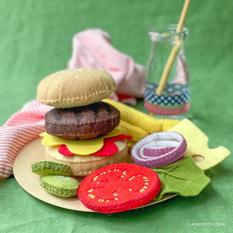 felt burger