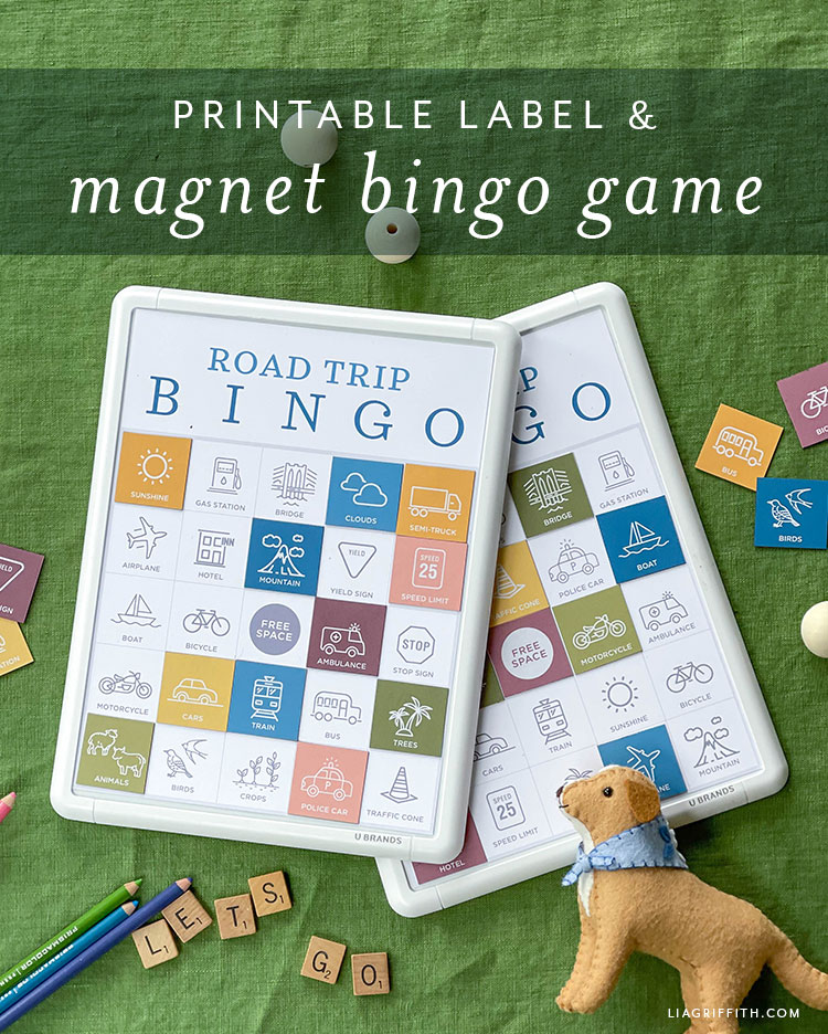 printable label and magnet bingo game