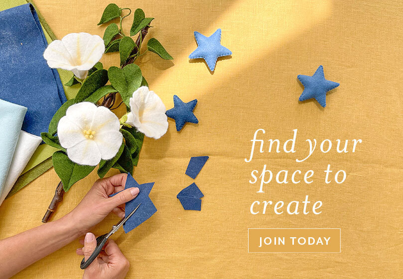 Find your space to create. Join today!