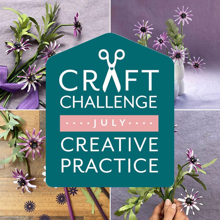 Július kézműves kihívás és kreatív gyakorlat