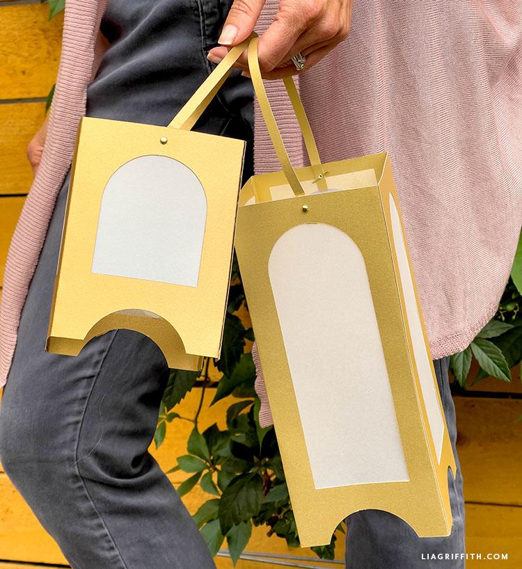 handmade paper lanterns