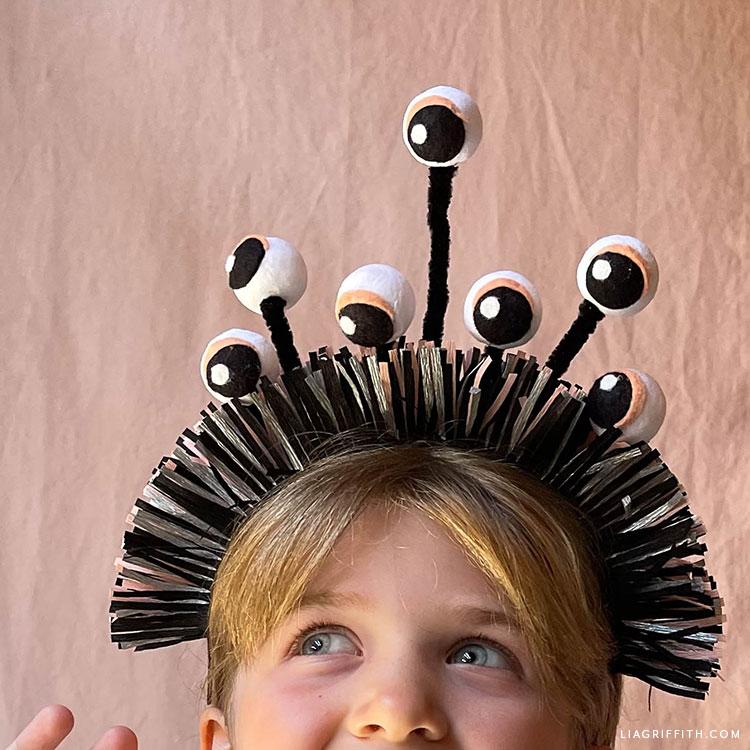 handmade monster headband