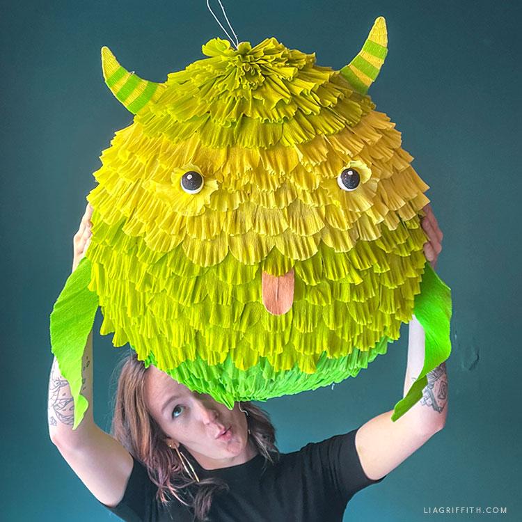 paper mache monster
