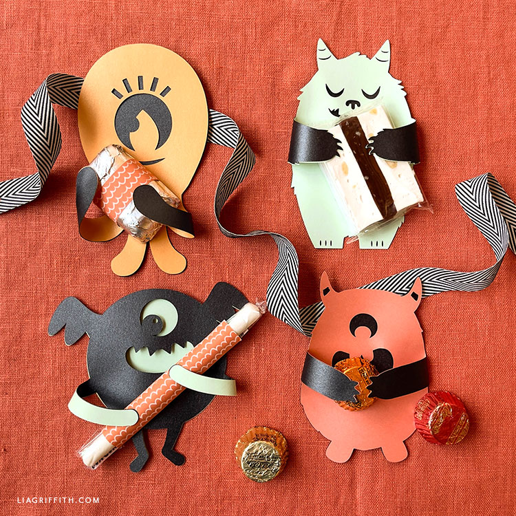 paper monster candy huggers